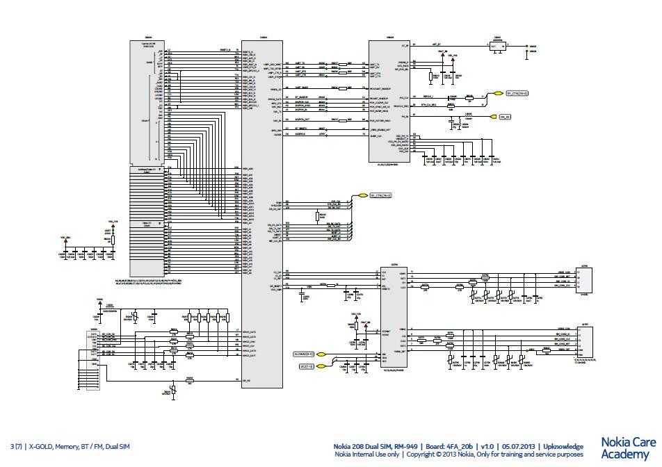 nokia cell phone schematic service manuals pdf rh mobile manuals com circuit diagram nokia 1100 circuit diagram of nokia 1600